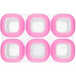 OXO Tot Baby Blocks Freezer Storage Containers - Pink 2oz