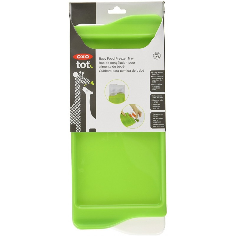 Oxo Tot Baby Food Freezer Tray Green Baby Central Hk