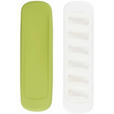OXO Tot Baby Food Freezer Tray With Silicone Lid-2 pack - Green