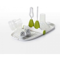 Oxo Tot Breat Pump Parts Drying Rack with D..