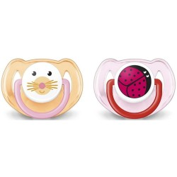 Philips Avent Animal Soother 6-18months Pin..