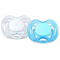 Phillips Avent Night Time Soother 0-6months Blue