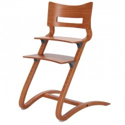 Leander High Chair excl. Safety Bar - Cherr..