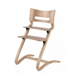 Leander High Chair excl. Safety Bar - Natur..