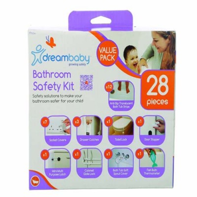 Dreambaby Bathroom Safety Kit - 28 Pieces Value Pack Uk