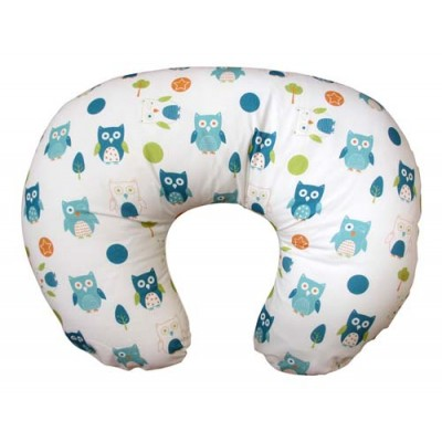 Dreamgenii Donut Pillow (Multi Owls)