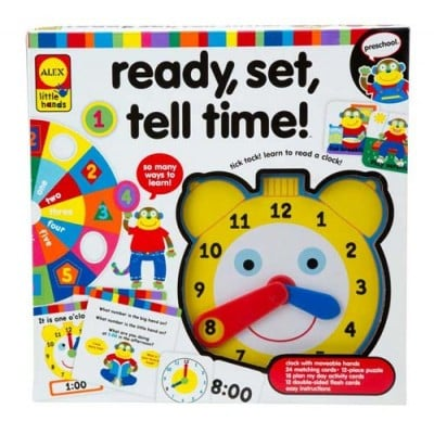 Alex Toys Little Hands Ready Tell Time