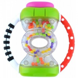 Sassy Baby Hour Glass Rattle