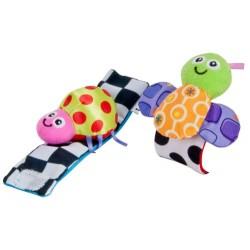 Lamaze High-Colour Wrist Rattles