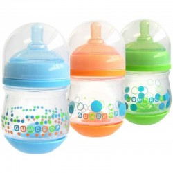 The First Years Gumdrop Wide Neck Anti-Colic 4oz - 3Pk
