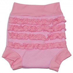 Splash About Happy Nappy - Pink Frills