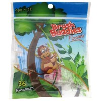Brush Buddies Monkey Flossers (36 count)