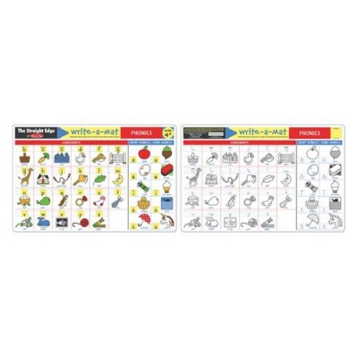 Melissa & Doug Phonics Write-A-Mat (Bundle Of 6)
