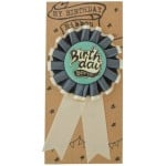 Seedling Birthday Ribbon Badge - Boy - The Best Day Ever
