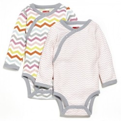 Skip Hop 2pc Side Snap Bodysuit Long Sleeve..
