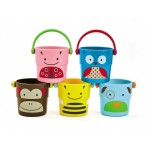 Skip Hop Explore & More - Zoo Stack & Pour Buckets 9m+
