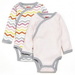 Skip Hop Sc 2Pc Bodysuit Lgslv - Girl Nb