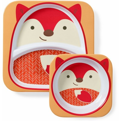 Skip Hop Zoo Tabletop Melamine Set - Fox
