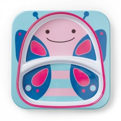 Skip Hop Zoo Tabletop - Plate - Butterfly