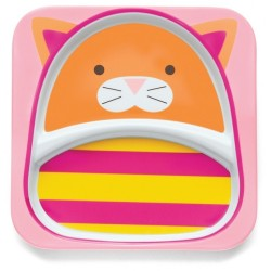 Skip Hop Zoo Tabletop - Plate - Cat