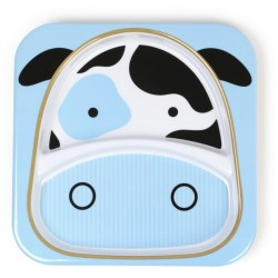 Skip Hop Zoo Tabletop - Plate - Cow