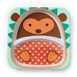 Skip Hop Zoo Tabletop - Plate - Hedgehog