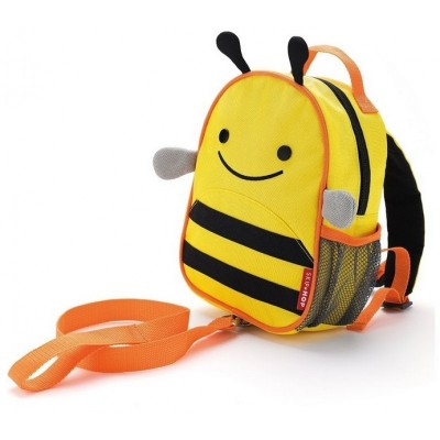 Skip Hop Zoolet Mini Backpack with Rein - Bee
