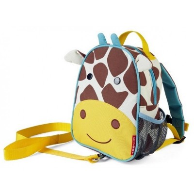 Skip Hop Zoolet Mini Backpack with Rein - Giraffe