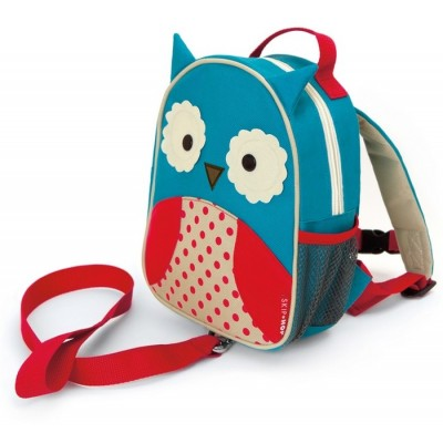Skip Hop Zoolet Mini Backpack with Rein - Owl