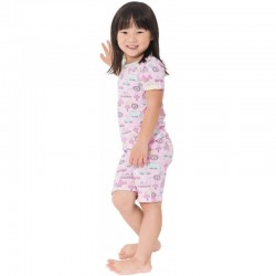 Snug-a-licious Short Pajamas - HK Girls Pri..