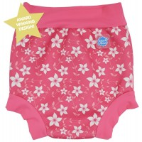 Splash About Happy Nappy - Pink Blossom - 3-8 months