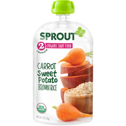 Sprout Organics Carrot, Sweet Potato & ..