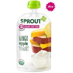 Sprout Organics Mango Apple Yogurt