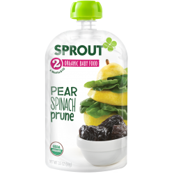 Sprout Organics Pear Spinach & Prune