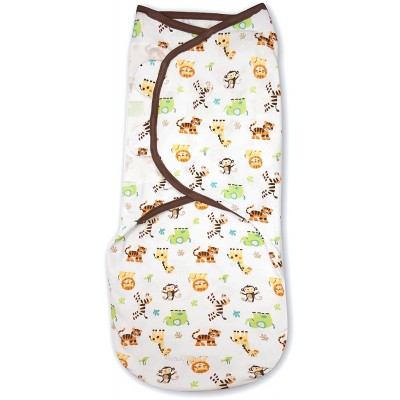 Summer Infant SwaddleMe Original Swaddle 1-PK - Graphic Jungle (LG)