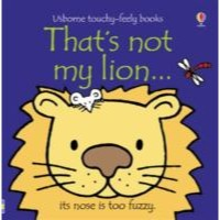 Usborne That's Not My Lion