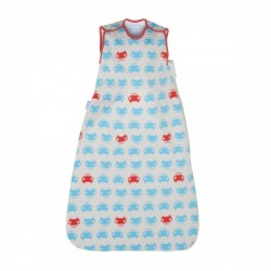 The Gro Company Cars Turquoise and Red (SZ Jersey) 18-36m 2.5 Tog Simply Grobag Asian Spec