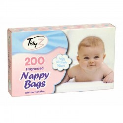 Tidy Z Fragranced Nappy Bags 200 pack