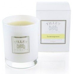 Tilley Scented Soy Candle 240g - Lemongrass
