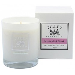 Tilley Scented Soy Candle 240g - Patchouli ..