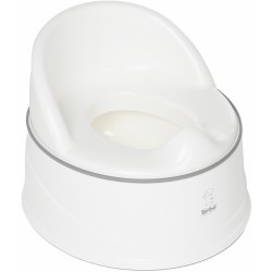 Tippitoes 3-IN-1 Luxury Potty - White Grey