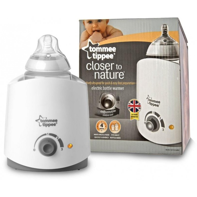 tommee tippee bottle and food warmer instructions