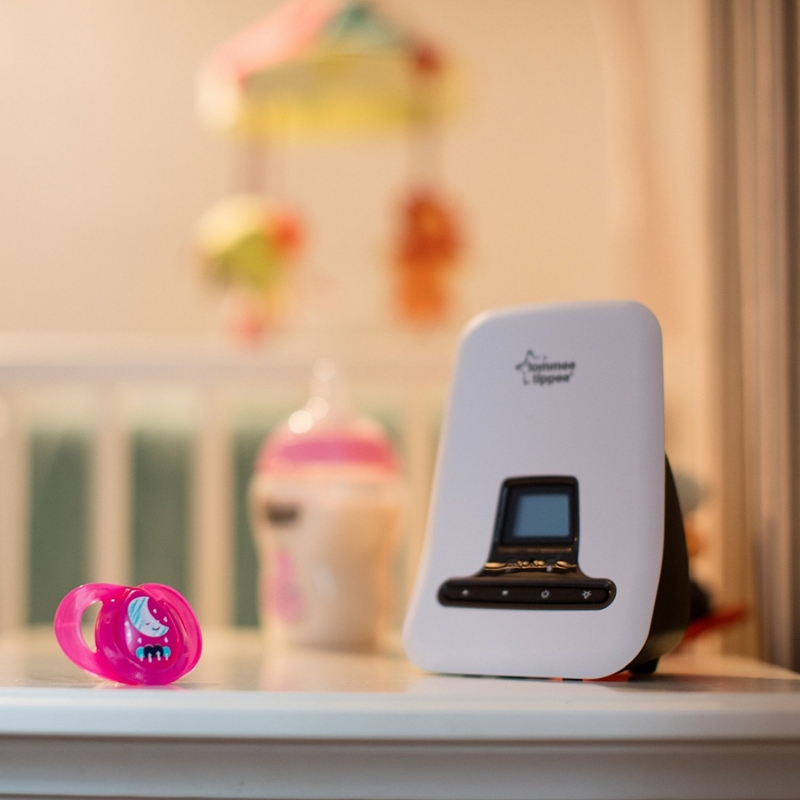 tommee tippee closer to nature dect baby monitor w sensor pad. Black Bedroom Furniture Sets. Home Design Ideas
