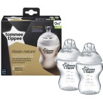 Tommee Tippee Closer to Nature Bottle 260ml/9oz (Twin Pack)
