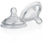 Tommee Tippee Closer to Nature Teat - Cross Cut Vari Flow (Twin Pack)
