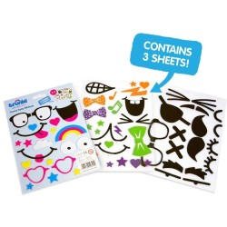 Trunki Funny Face Stickers