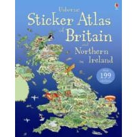 Usborne Usborne Sticker Atlas of Britain and Northern Ireland