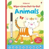 Usborne Wipe-Clean Dot-to-Dot Animals