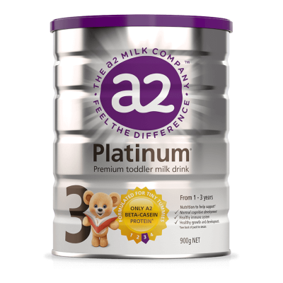 A2 Platinum Premium Toddler Milk Drink 3 (From 1 Year) - 900g