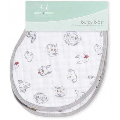 aden + anais Classic Burpy Bibs Year of the Dog 2 Pack